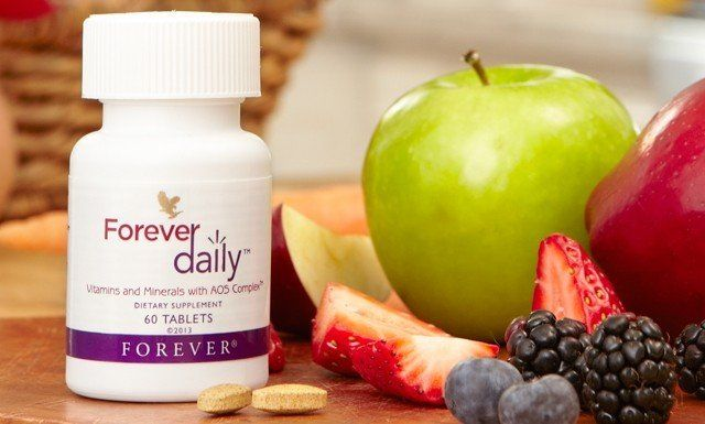 Forever Daily - supliment alimentar de la forever living products romania
