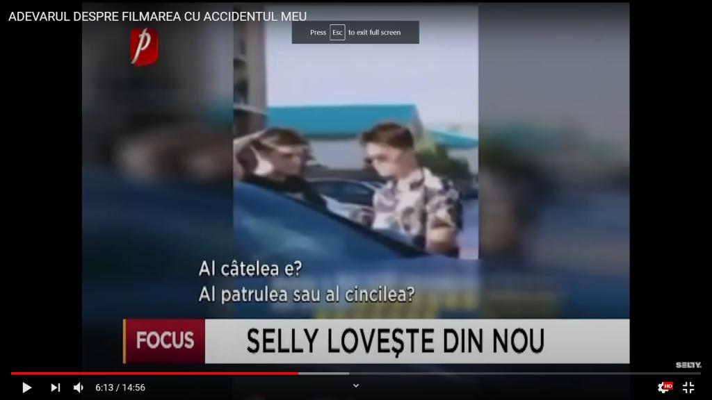 Selly - cel mai mare vlogger din romania